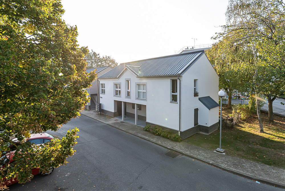 Résidence Boyenval à Beaumont-sur-Oise (95) - Réhabilitation de 351 logements locatifs sociauxLivraison: 3ème trimestre 2020© Vincent Krieger